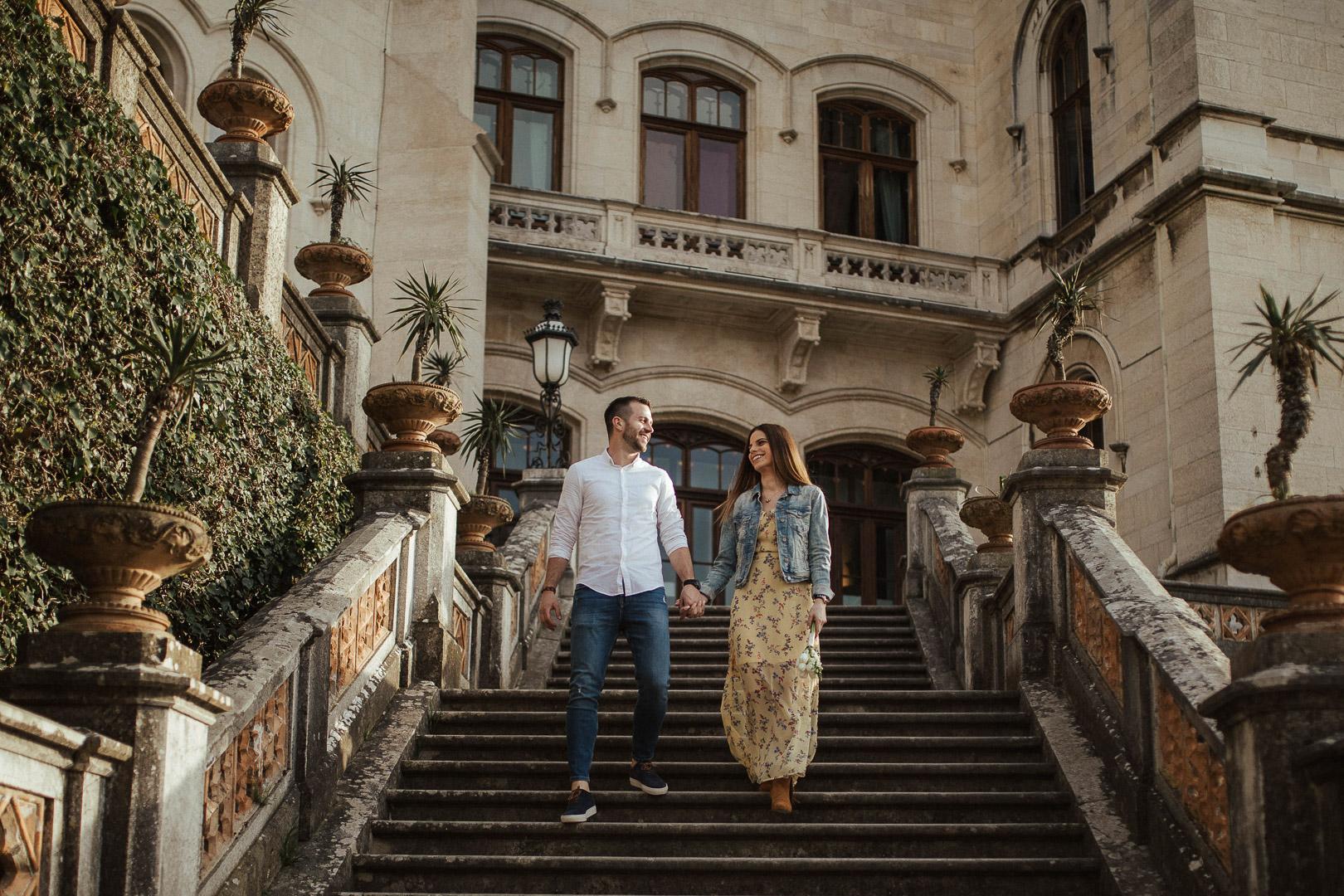 Irena & Kristijan, love session, Castle de Miramare